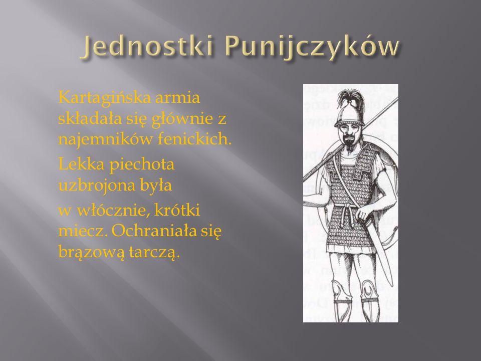 Jednostki Punijczyków