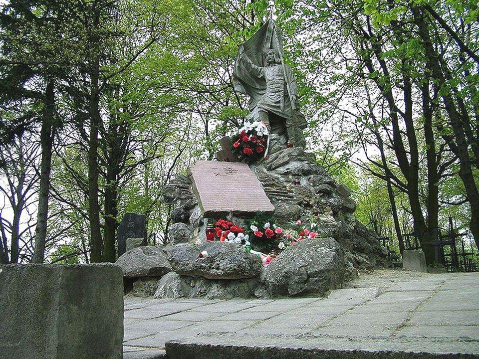 Powstańców Styczniowych 1863 Pomnik Szymona Wizunasa Szydłowskiego,