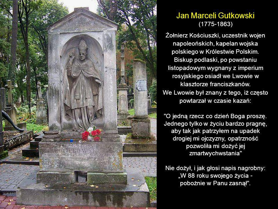 Jan Marceli Gutkowski (1775-1863)