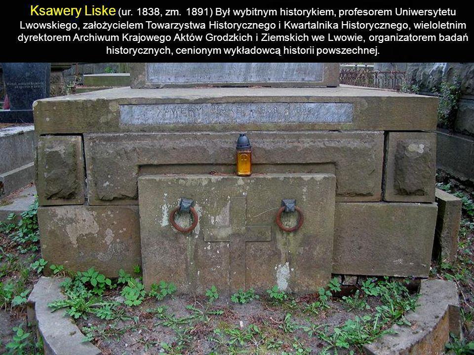 Ksawery Liske (ur.1838, zm.