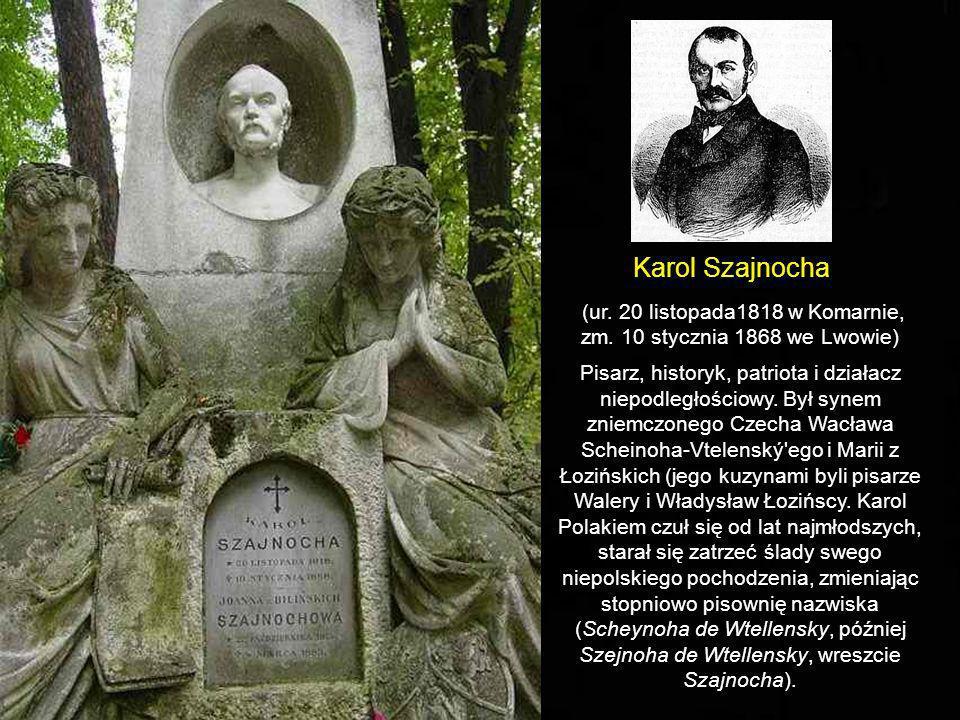 Grobowiec rodziny Szajnochów: Karola, jego żony Joanny
