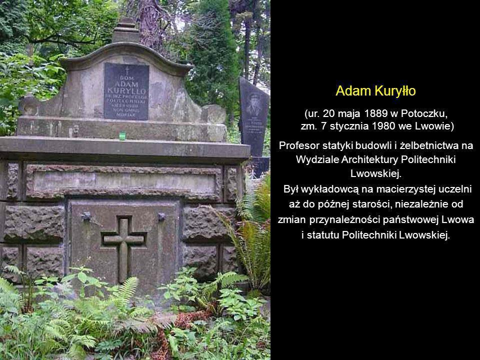 Adam Kuryłło (ur. 20 maja 1889 w Potoczku,