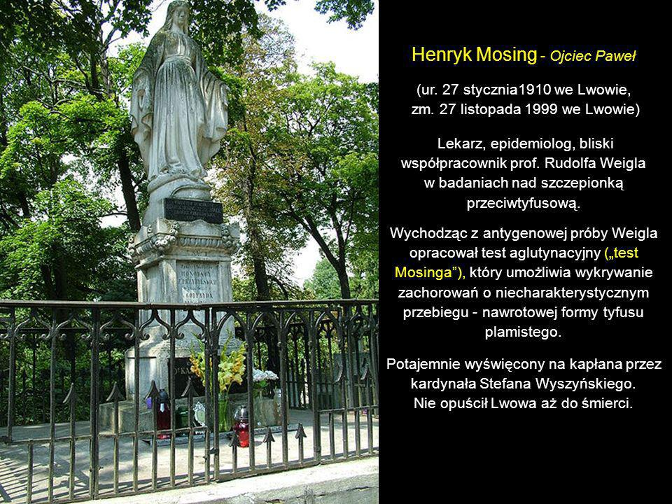 Henryk Mosing - Ojciec Paweł