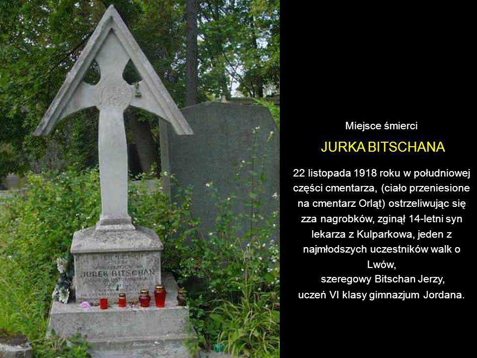 szeregowy Bitschan Jerzy, uczeń VI klasy gimnazjum Jordana.