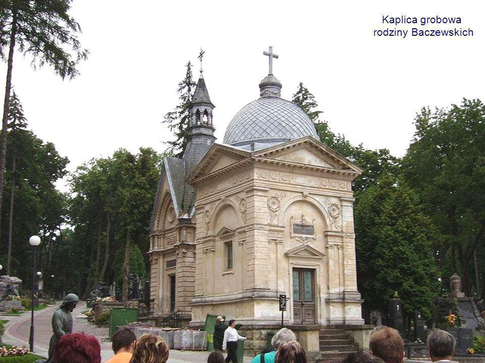 Kaplica grobowa rodziny Baczewskich