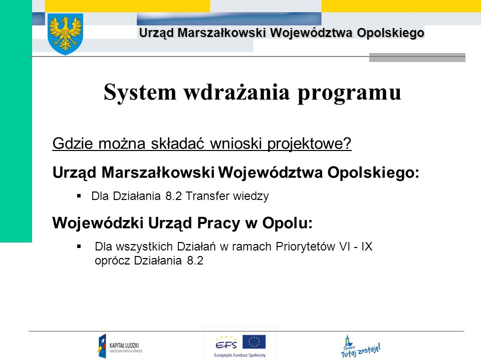 System wdrażania programu