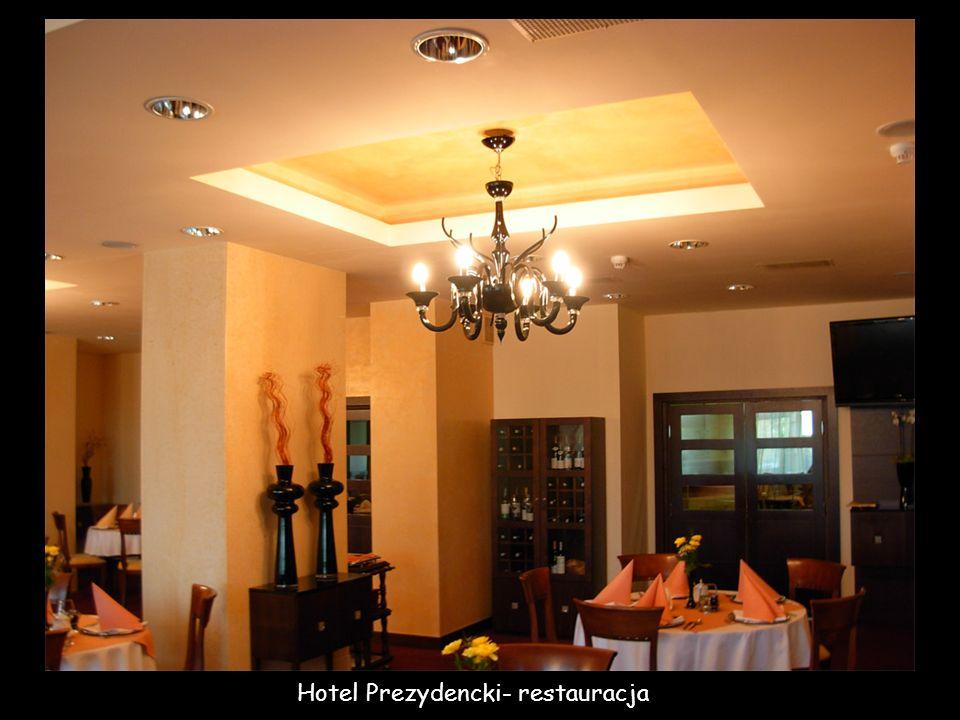 Hotel Prezydencki- restauracja
