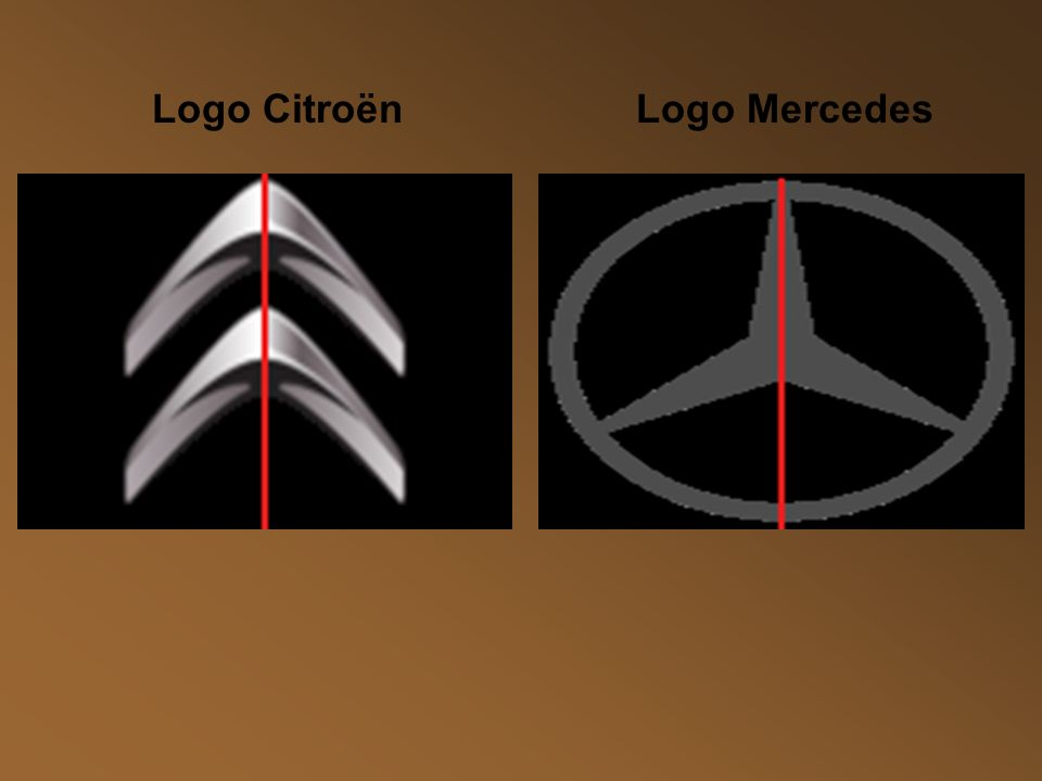Logo Citroën Logo Mercedes