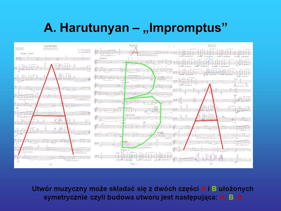 """A. Harutunyan – """"Impromptus"""