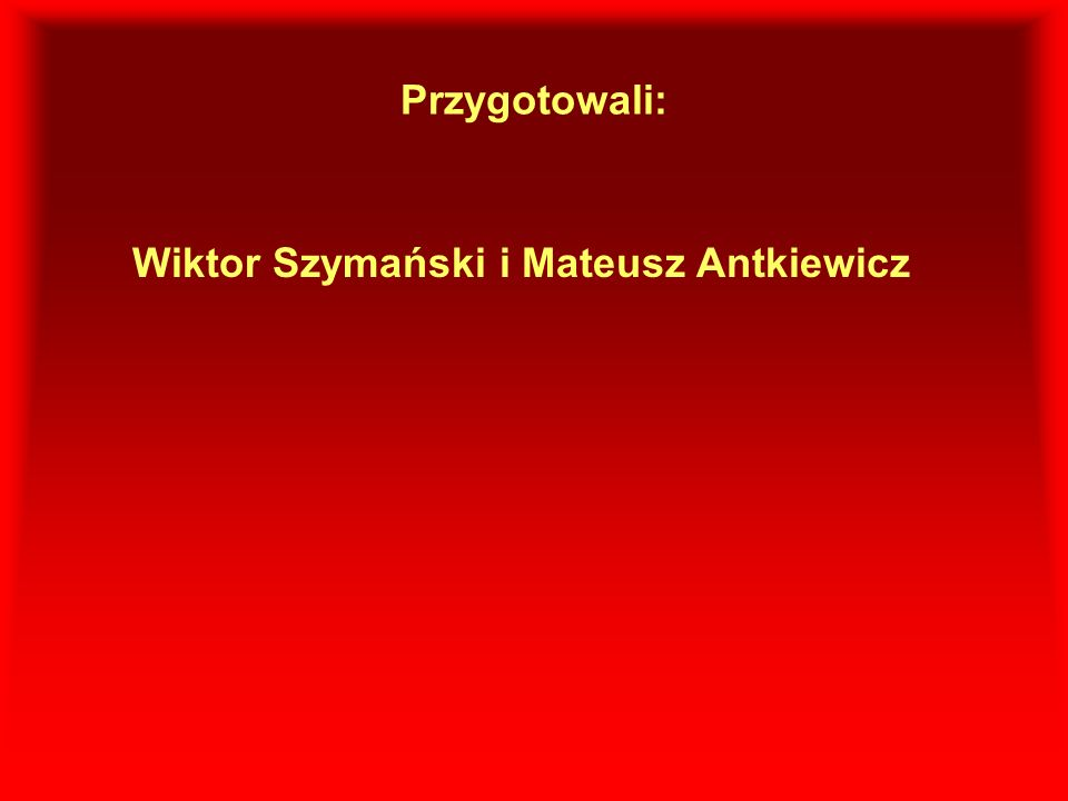 Wiktor Szymański i Mateusz Antkiewicz