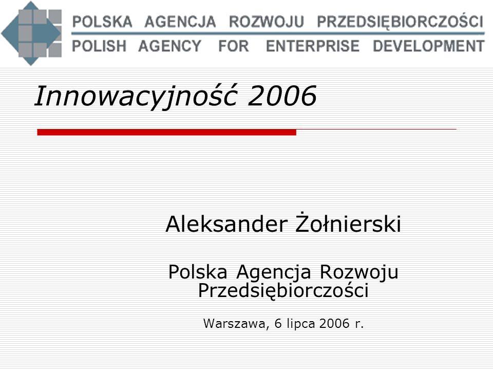 Innowacyjność 2006 Aleksander Żołnierski