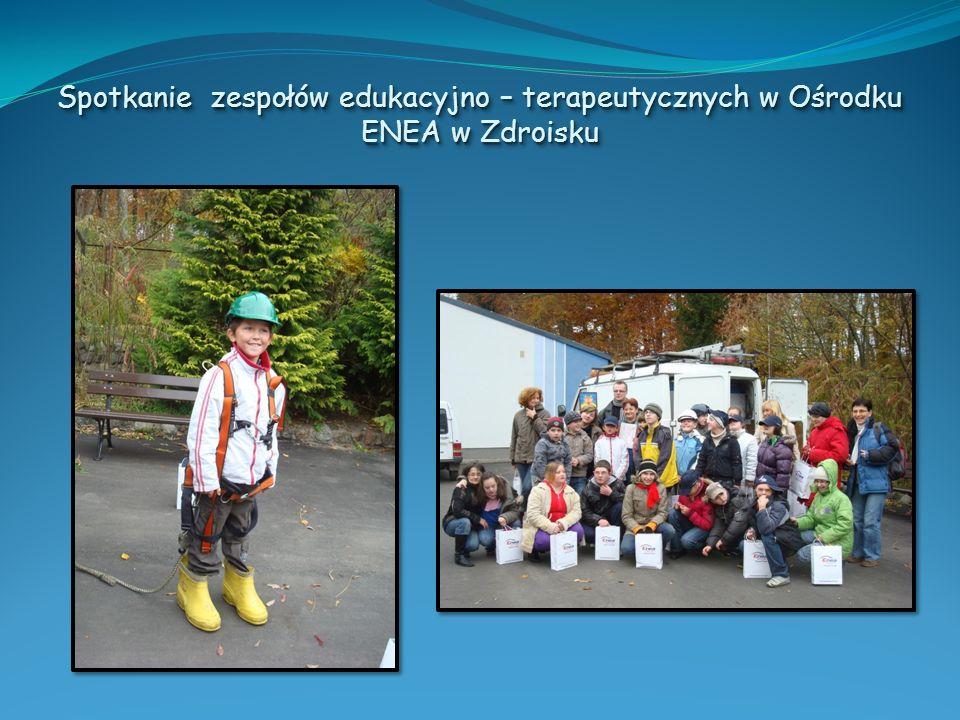 Spotkanie zespołów edukacyjno – terapeutycznych w Ośrodku ENEA w Zdroisku