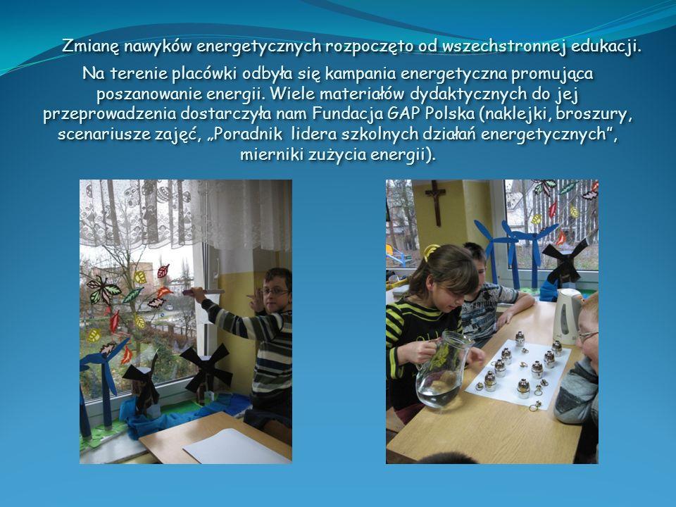 Zmianę nawyków energetycznych rozpoczęto od wszechstronnej edukacji