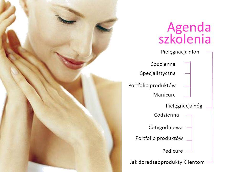 Agenda szkolenia Pielęgnacja dłoni Codzienna Specjalistyczna