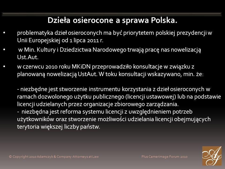 Dzieła osierocone a sprawa Polska.