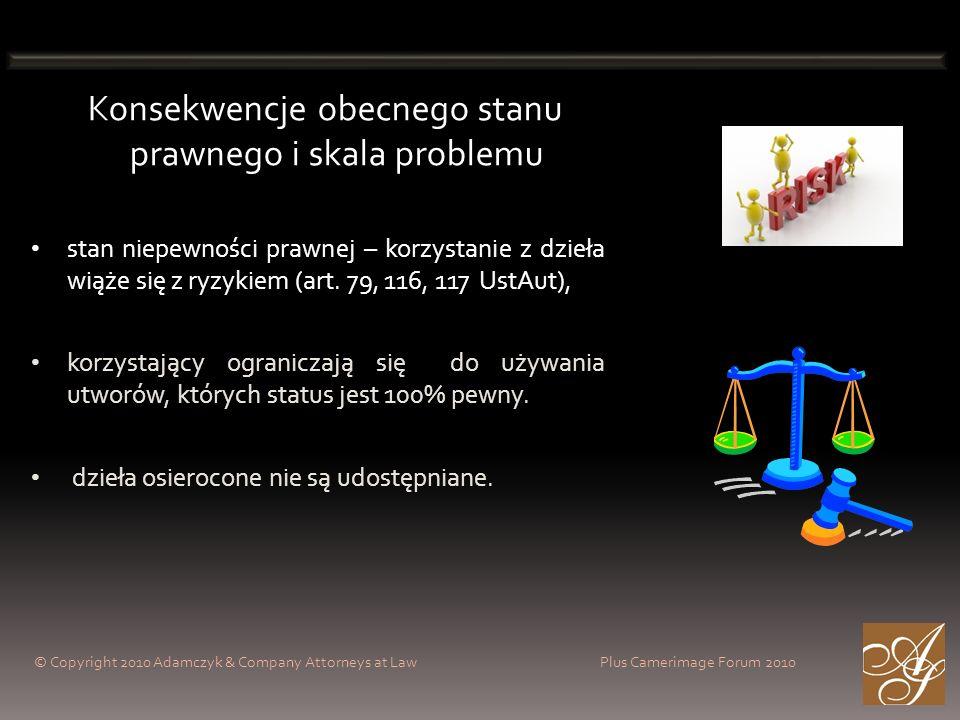 Konsekwencje obecnego stanu prawnego i skala problemu