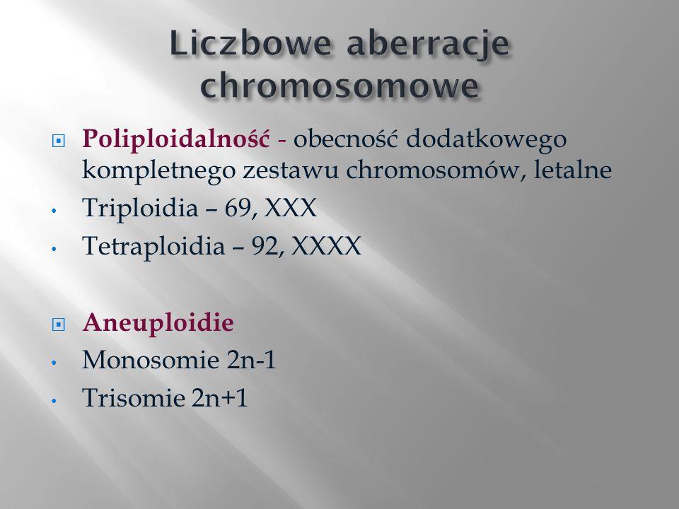 Liczbowe aberracje chromosomowe
