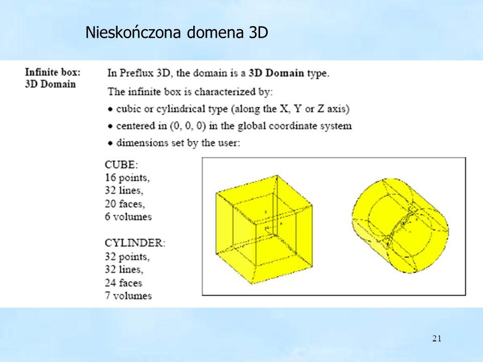 Nieskończona domena 3D