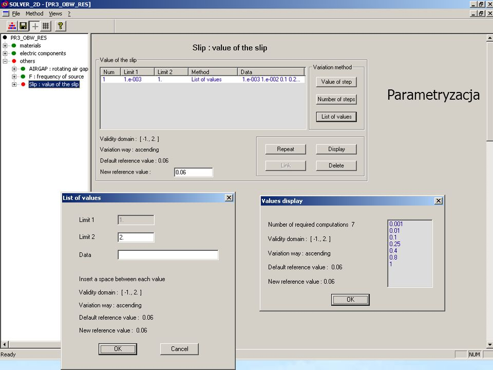 Parametryzacja