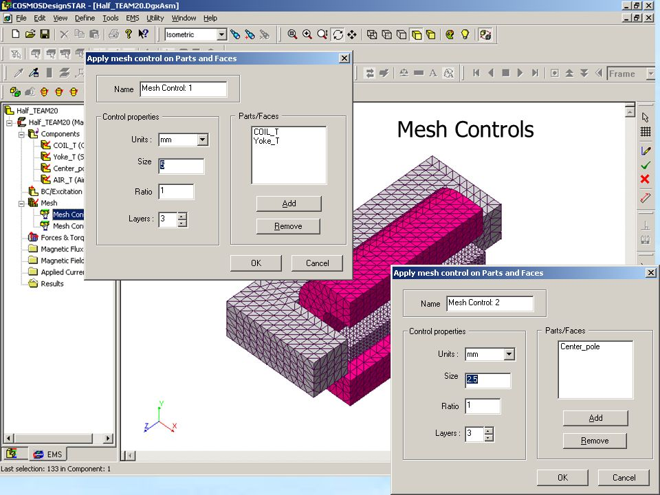 Mesh Controls