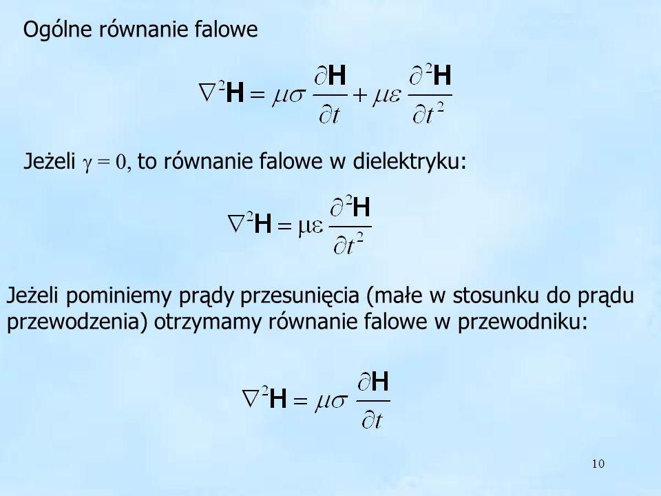 Ogólne równanie falowe