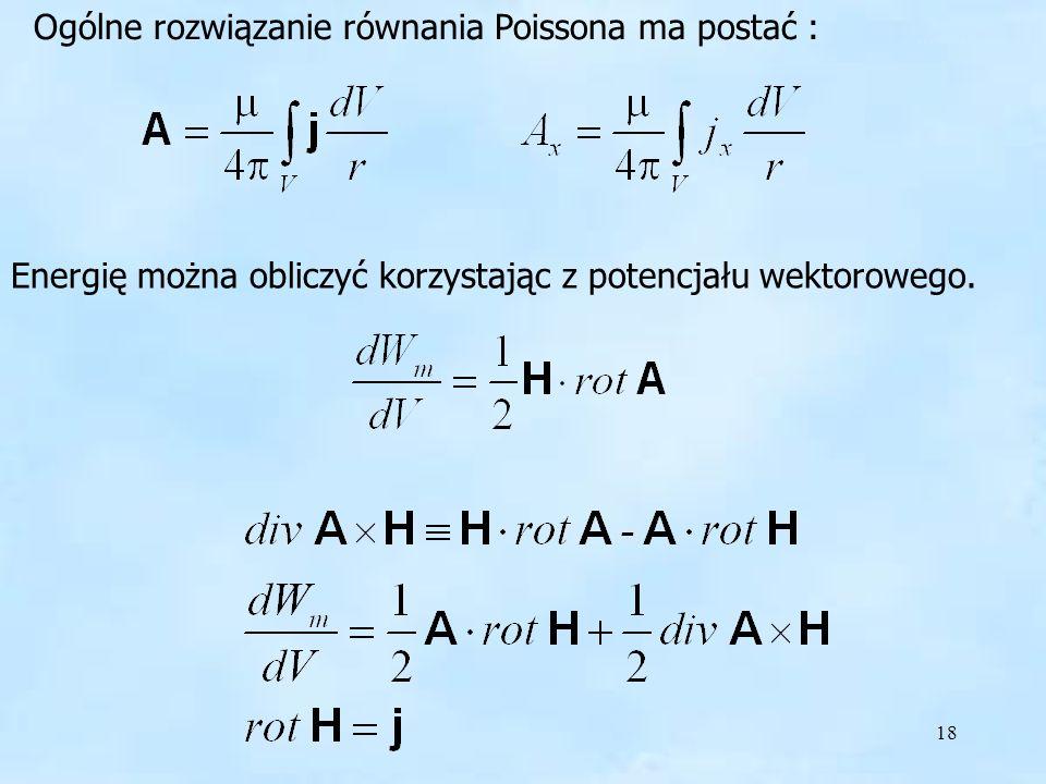 Rozwiązanie równania Poissona