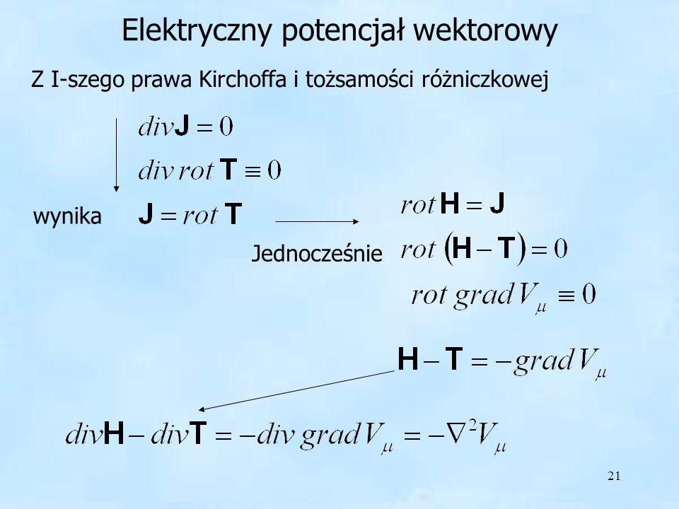 Elektryczny potencjał wektorowy