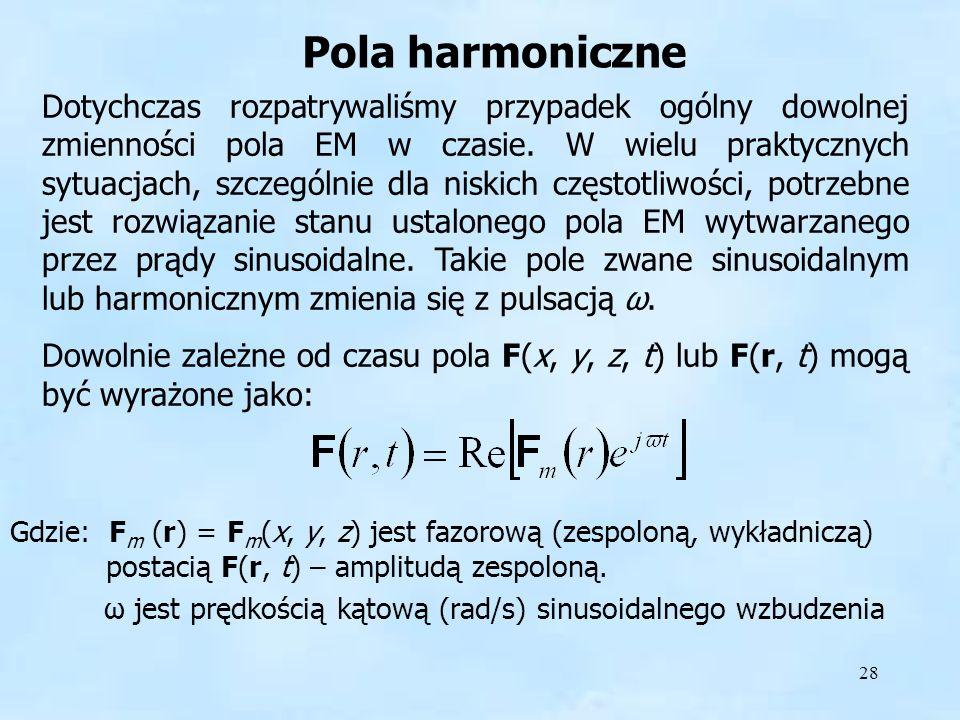 Pola harmoniczne Pola harmoniczne.