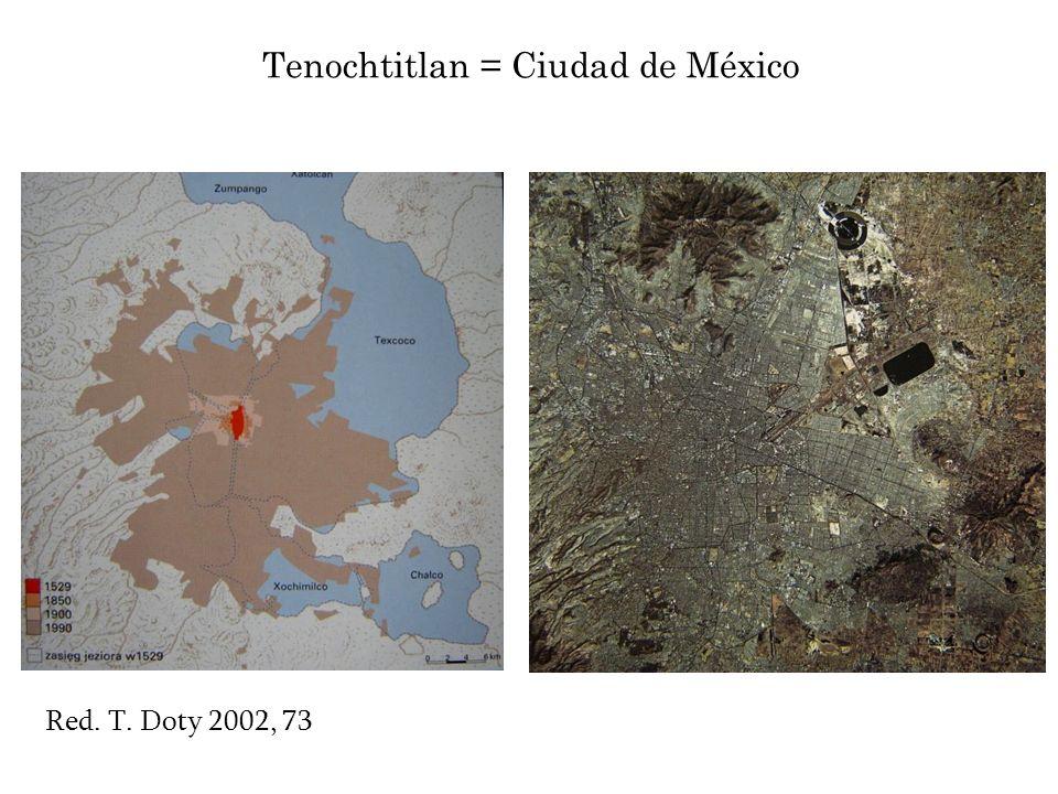 Tenochtitlan = Ciudad de México