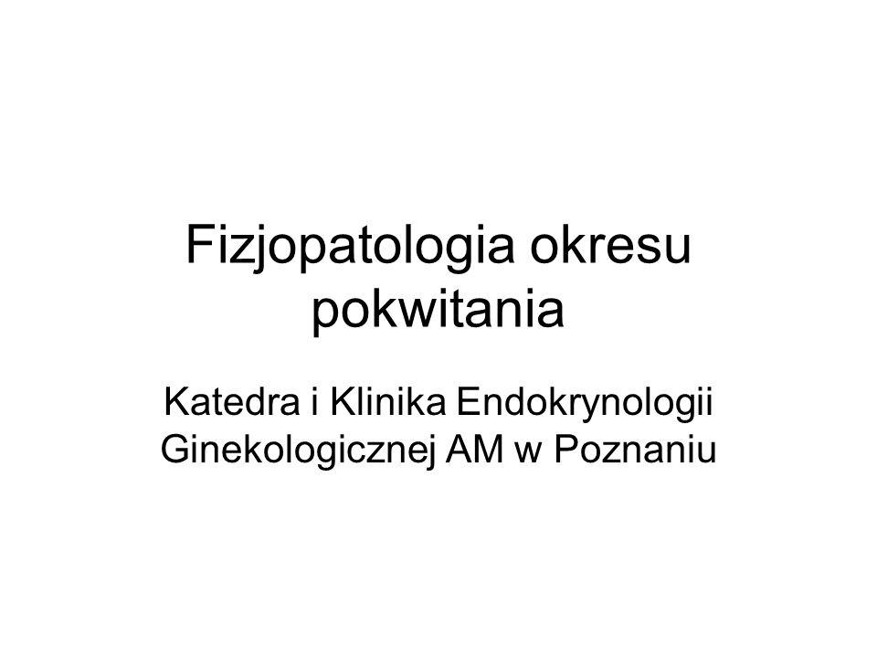 Fizjopatologia okresu pokwitania