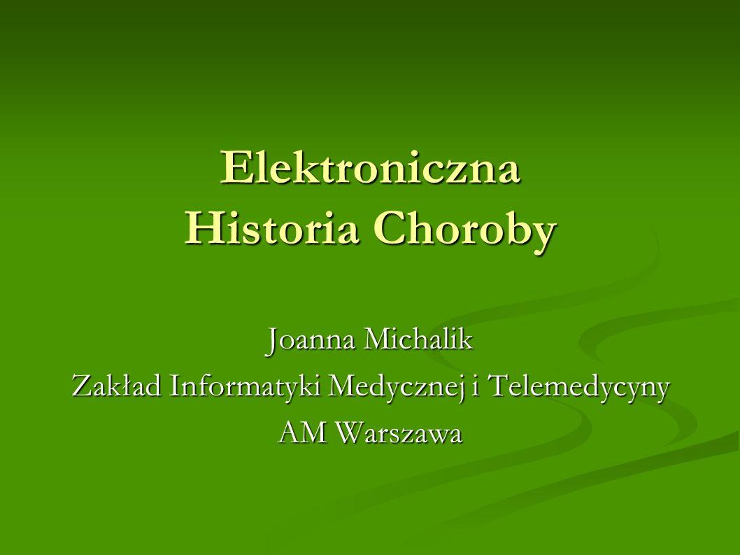 Elektroniczna Historia Choroby