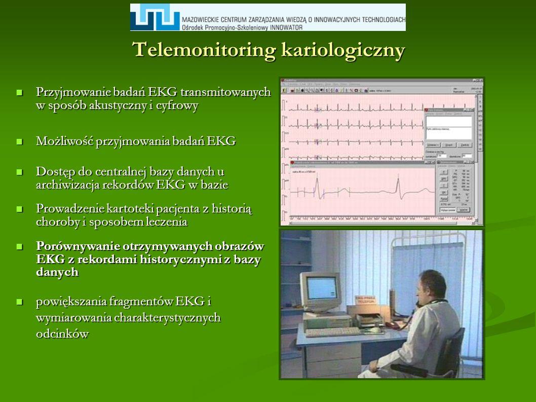 Telemonitoring kariologiczny