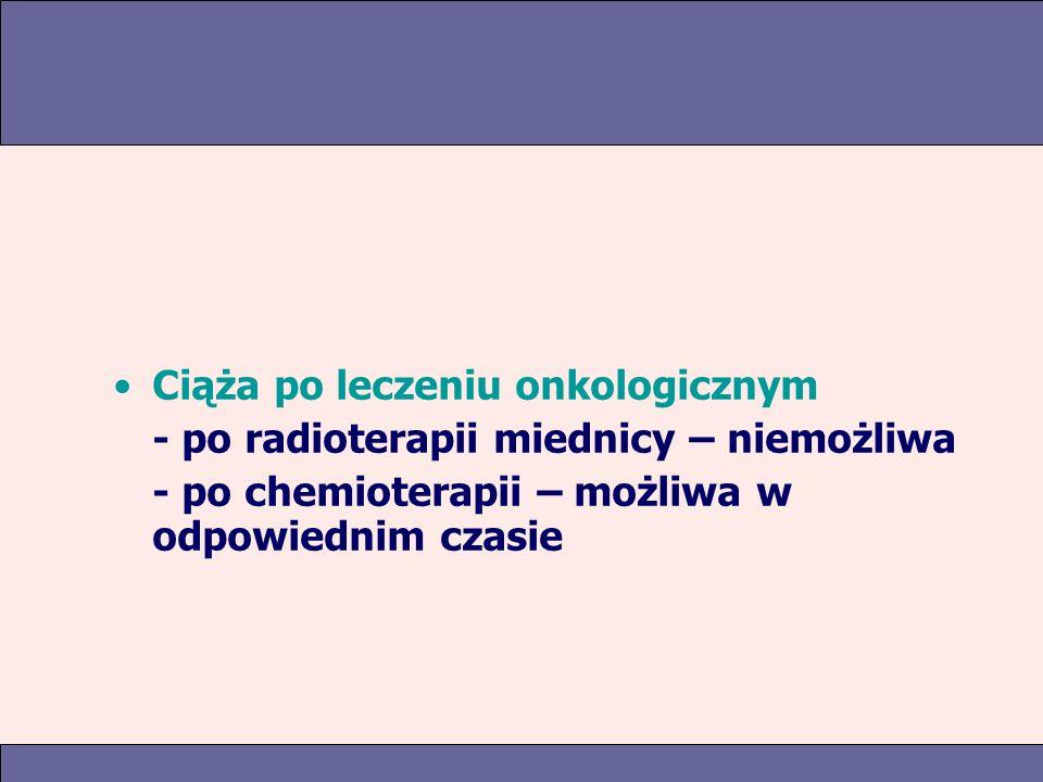 Ciąża po leczeniu onkologicznym