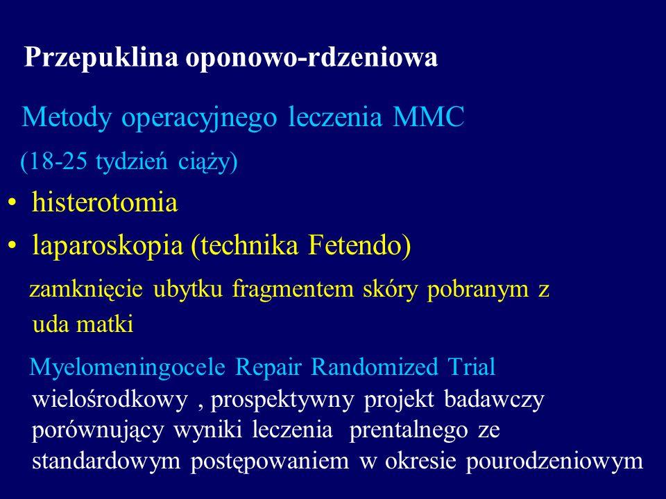 Przepuklina oponowo-rdzeniowa