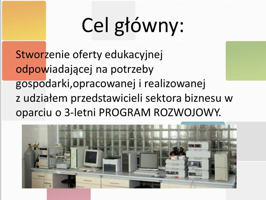 Cel główny: Stworzenie oferty edukacyjnej