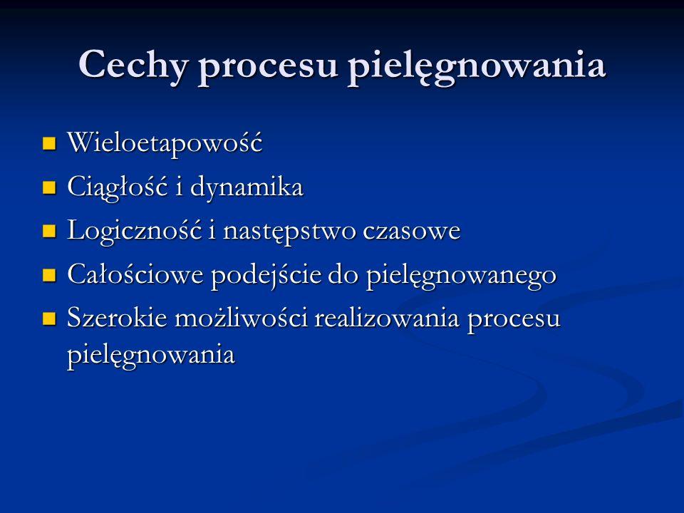 Cechy procesu pielęgnowania