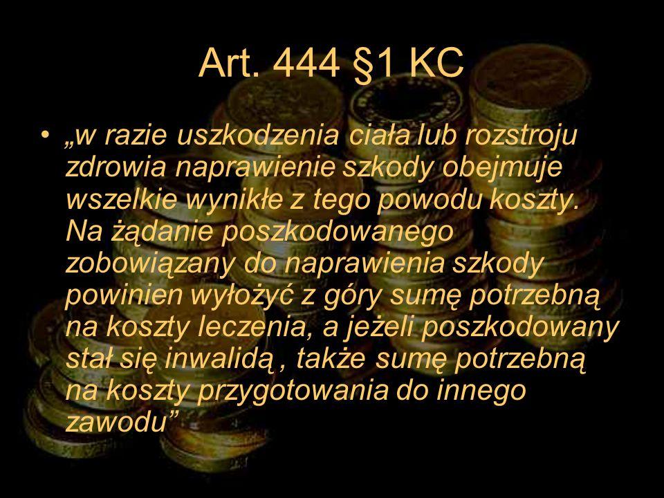 Art. 444 §1 KC