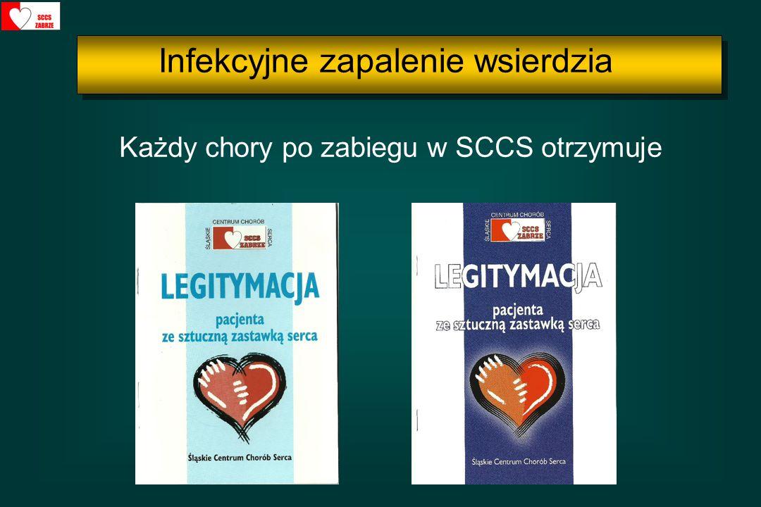 Każdy chory po zabiegu w SCCS otrzymuje