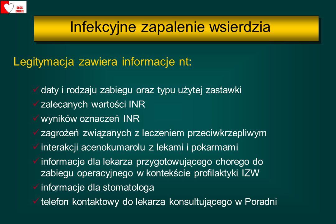 Infekcyjne zapalenie wsierdzia