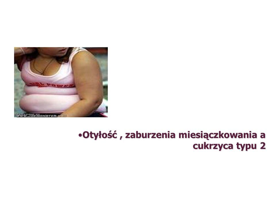 Otyłość , zaburzenia miesiączkowania a cukrzyca typu 2