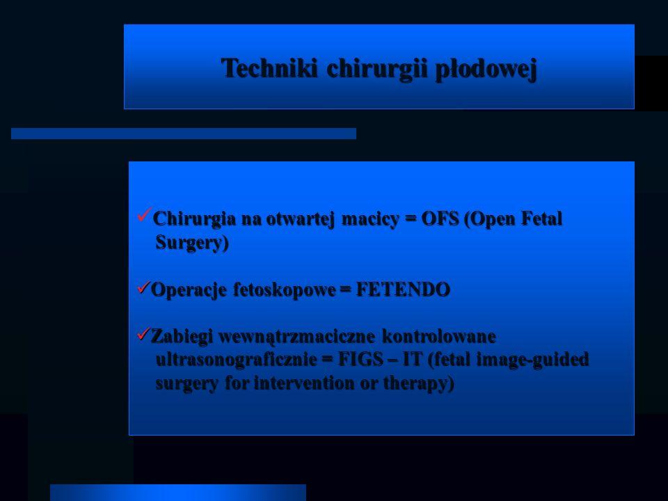 Techniki chirurgii płodowej