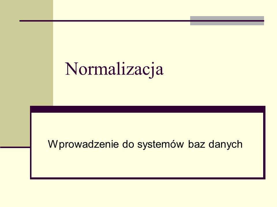Wprowadzenie do systemów baz danych