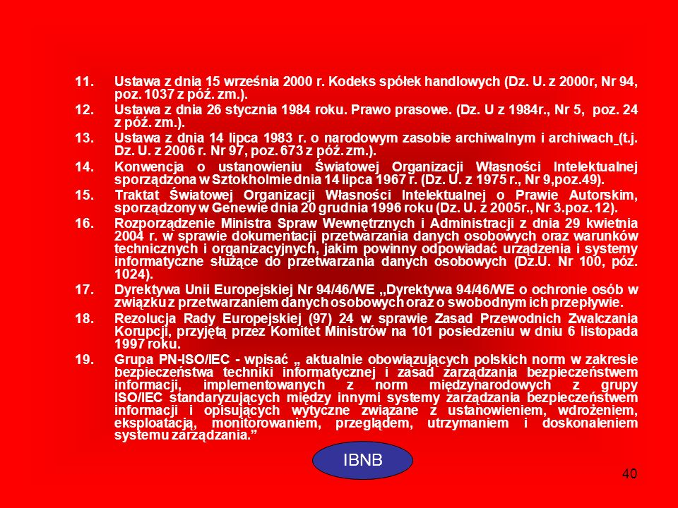 Ustawa z dnia 15 września 2000 r. Kodeks spółek handlowych (Dz. U
