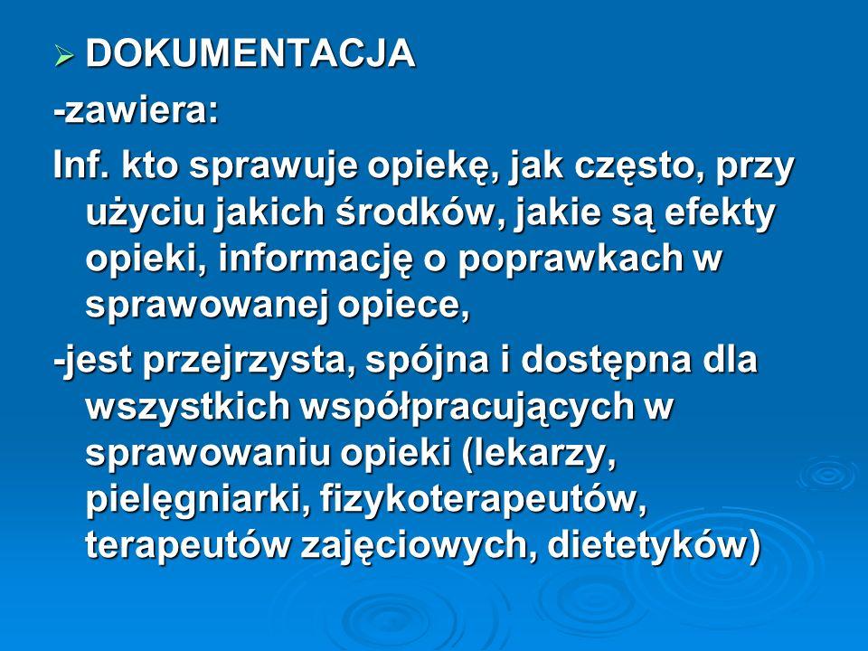 DOKUMENTACJA-zawiera:
