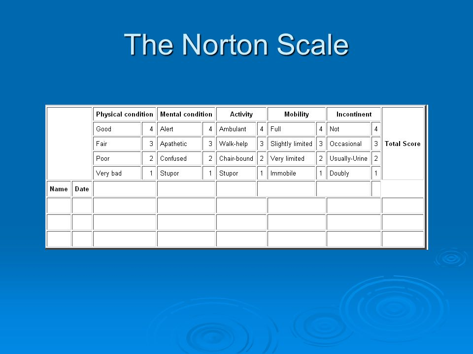 The Norton Scale