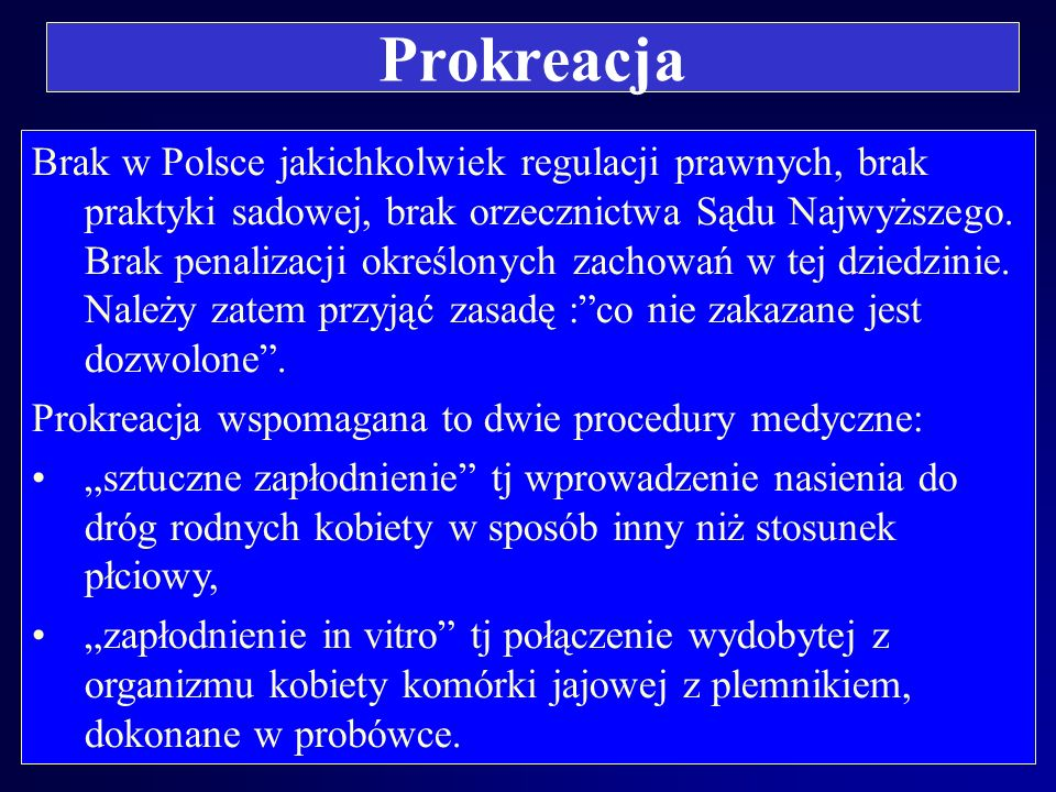 Prokreacja