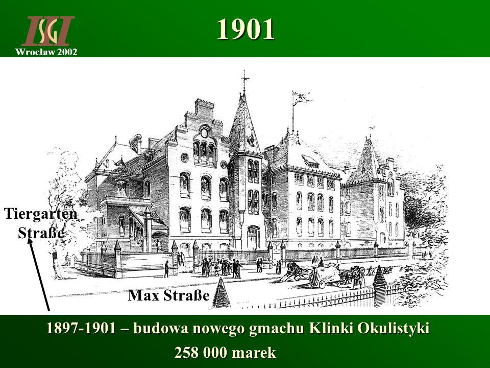 1901 Tiergarten Straße Max Straße