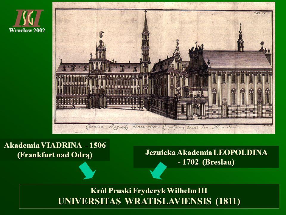 UNIVERSITAS WRATISLAVIENSIS (1811)