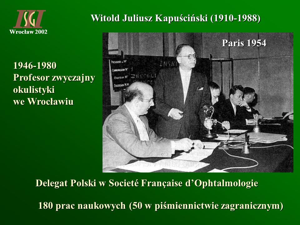 Witold Juliusz Kapuściński (1910-1988)