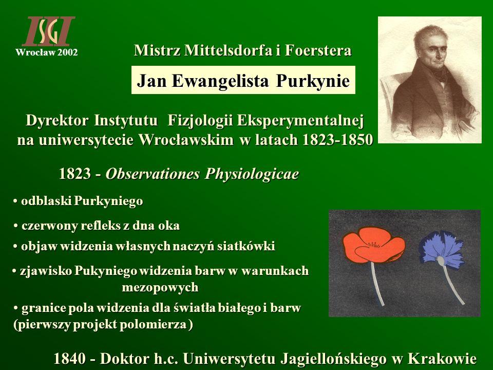 Jan Ewangelista Purkynie
